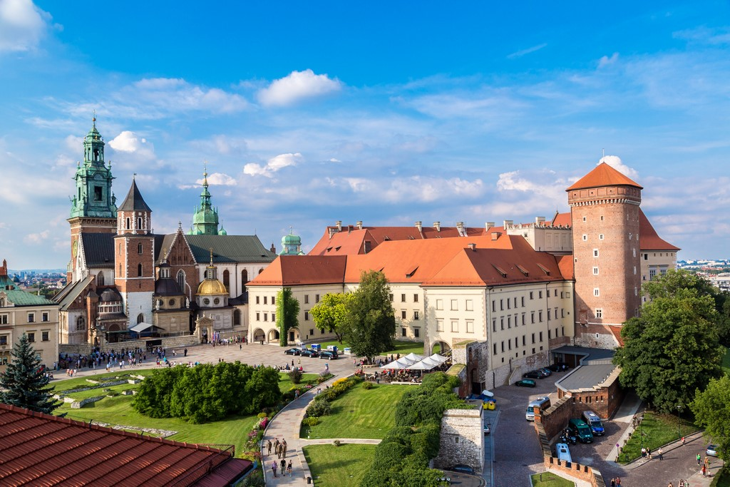 The Wawel Castle, Cracow